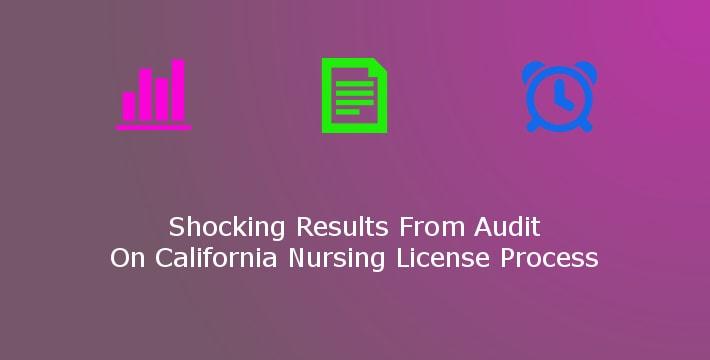shocking results from california nursing license audit » bluepipes blog