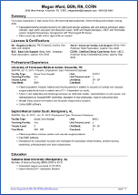 Sample Nursing Resume 1